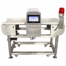 FDA belt conveyor Metal detector for food detection industry