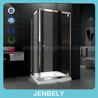 Square aluminum shower enclosure with hinge shower door parts BL-047