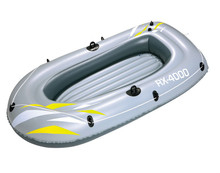 Bestway Hydro Force inflatable boat 2 person fishing kayak speed boat raft