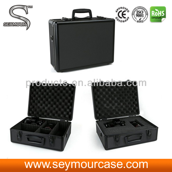 Camera Hard Aluminum Carrying Case/Travel Briefcase