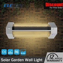 New product modern sensitive motion sensor solar LED led wall pack light CE FCC ROHS certified