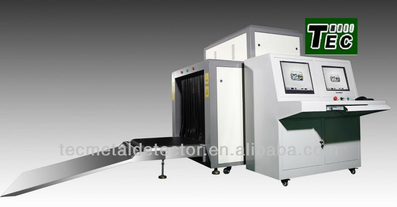 Metro Luchthaven X-Ray Bagage Machine, Digitale X-Ray Inspectiesysteem Tec-10080