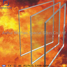 China manufacturer top fire rated tempered glass 30/60/90 minutes
