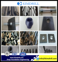 Professional metal construction tools anchor bar and parts for Concrete anchoring system