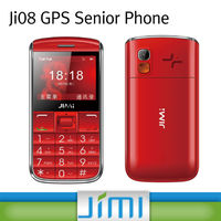 JIMI Senior Cell Phone Reviews SOS Emergency Button Family GPS Tracking Device Ji08