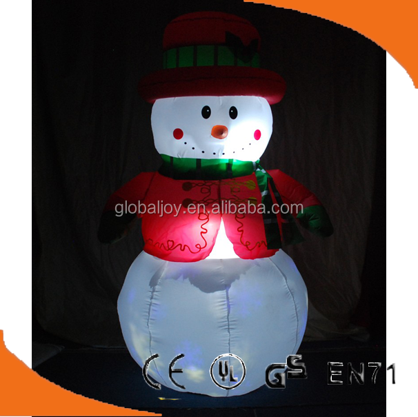Hot toys for christmas 2016,LED lighting xmas decoration,inflatable led christmas decorations