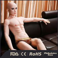 male huge big penis life size silicone sex male doll for women masturbation