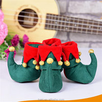 4pcs/set Wholesale Christmas Accessories Small Dog Boots Pet Shoes For Dogs