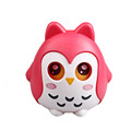 ICTI certificated custom made kids plastic owl figurine money box