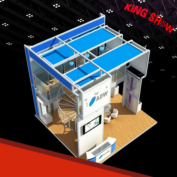 Modern design tension fabric exhibition booth with best price