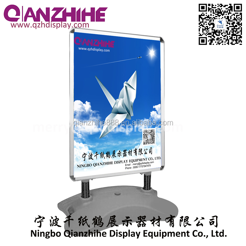 aluminum frame pavement sign water fillable base <strong>a1</strong>,windmaster stand a0 a2