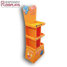 supermarket creative Sintra PVC displays rack for toys
