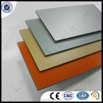 fireproof aluminium composite panels for indoor/outdoor decoration