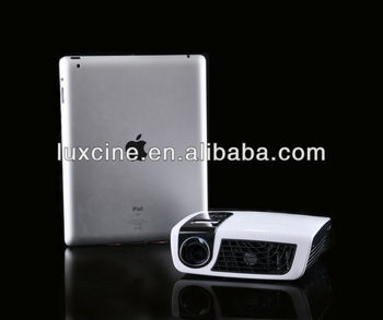 Hottes!!! world 1st 1080p android 4.2 airplay dlna projector with IPAD IPAD mini