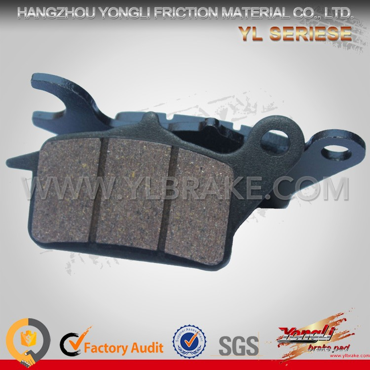 Good Reputation front sintered motorcycle brake pad for kawasaki