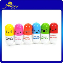 Cute Smiling Face Pill Pen
