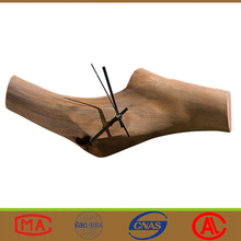 Home Hotel Natural Design Wood Decorative Wall Clock