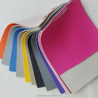 Embossed PVC artificial leather use for car seat leather, sofa leather usage