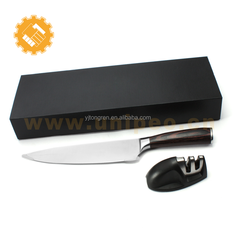 japan fashion wholesale chef knife 8 inch japanese knife set with sharpener