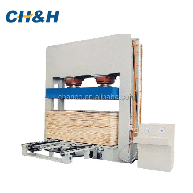 Best sell environmental plywood press hydraulic system