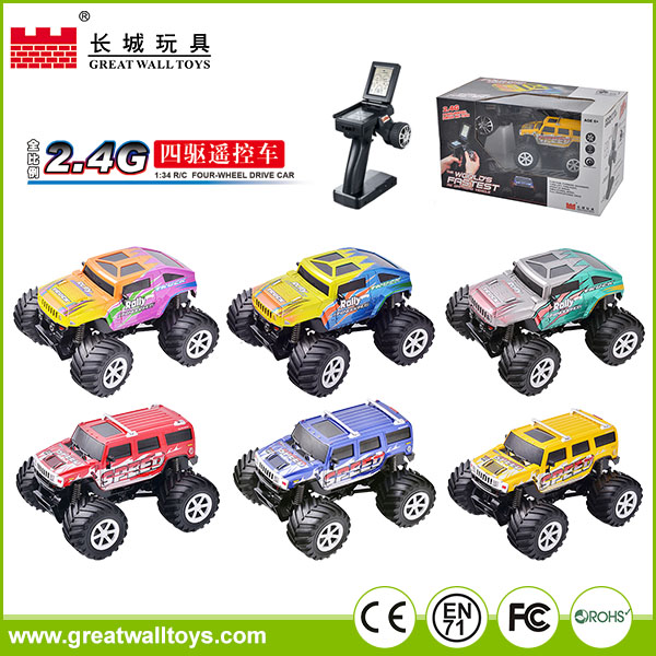 Top sale rc car toy 1:43 scale toy scale model truck rc car for kids