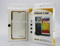 4200mah external battery case for samsung galaxy note 3 with leather case optional