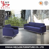 S906 Furniture loby PU or leather luxury modern corner sofa