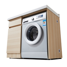 Bathroom furniture washing machine cabinet storage with cabinet