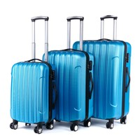 New design beautiful luggage, Cheap Abs,Abs/Pc,100%PC pretty luggage set