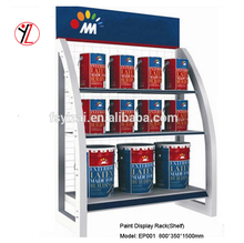 Good quality metal display stands for paint bottle
