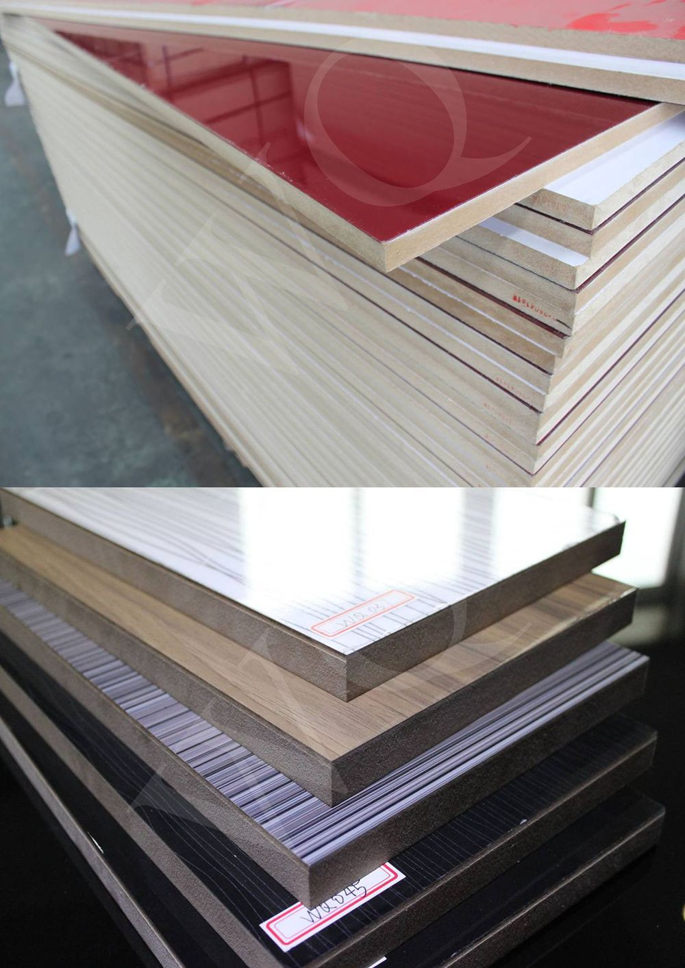 Acrylic Laminated MDF Board / Acrylic MDF Panel