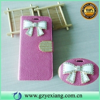 Wholesale diamond leather case for lenovo k3 note back cover