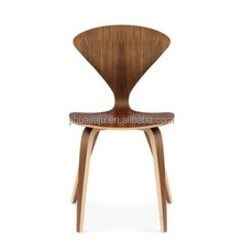 Cherner side wooden chairs