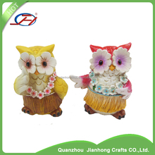 wholesale polyresin owl animal figurines eagle decoration gift crafts resin