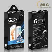 China Factory Custom Printed Paper Package for Screen Protector 10 in 1
