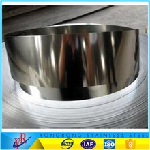 6k finish stainless steel t strip 410