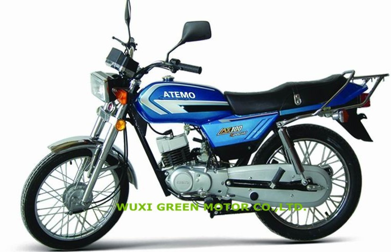 chopper motorcycle ax100 2 stroke classic street bike