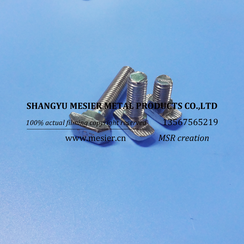 T head bolt m8*35-40 Thread Rod and Bolt China Supplier high strength bolts m8