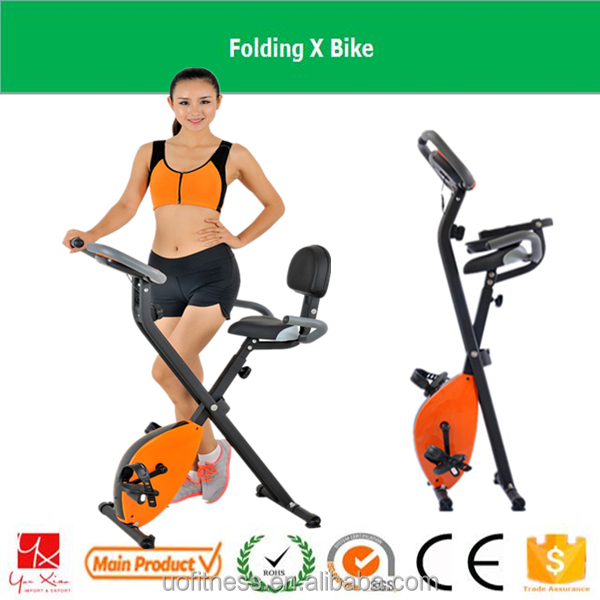 2016 factory supply Cheap Folding life gear health & fitness mini cycle pedal exercise magnetic X bike