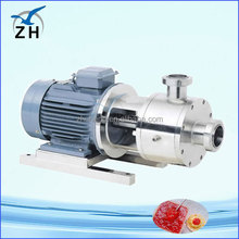vacuum high shear emulsifying tank/machine emusifying mixer machine stainless steel ccm cream emulsifying mixing tank
