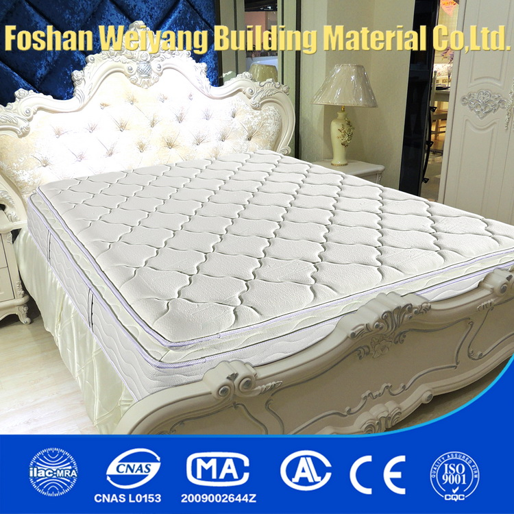 WSS1037 Chinese lifestyle home bedroom furniture pocket spring mattress