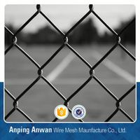 pvc coated used chain link fence mesh