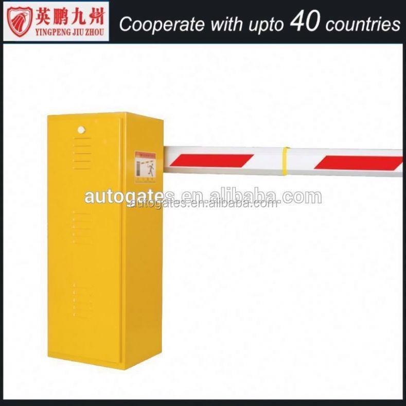China Manufacturer Auto-closing Parking barrier system with Manual Release Wire control /remote control