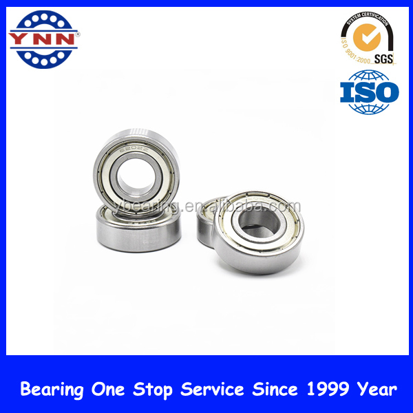 High speed and low noise ball bearings 16006