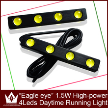 LightPoint waterproof& high quality 4 led auto drl 1.5W eagle eyes daytime running light