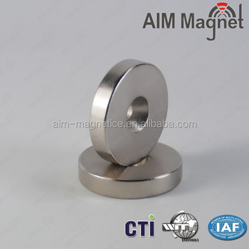Permanent Type and Industrial Magnet Application 12mm countersunk hole