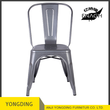 Restaurant metal dining chairs
