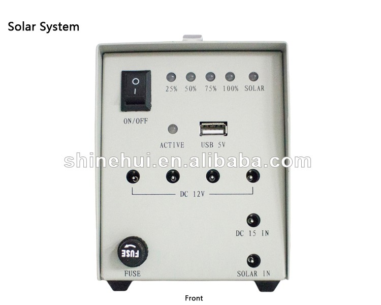 5W Factory Price Mobile Charger Home Lighting Solar Power System