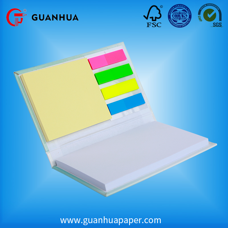 Chinese manufacturer die cut shaped offset paper printing fancy sticky notes