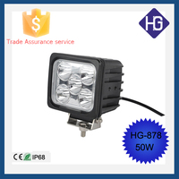 5 Inch big power 50W motorcycle driving lights spot/flood led work lights SUV ATV Jeep